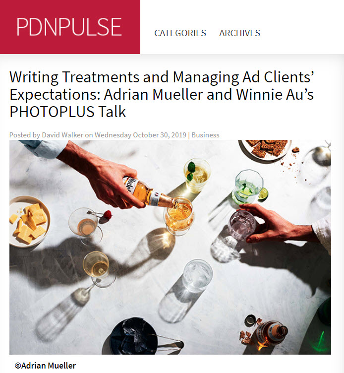 Screenshot of article posted on PDNPulse