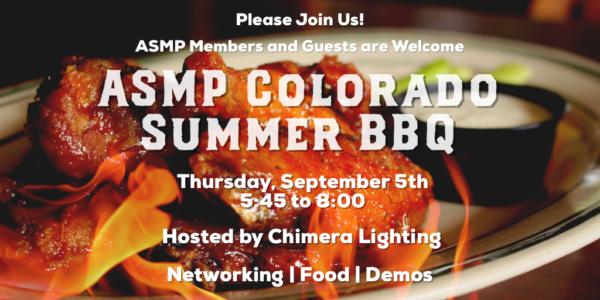 ASMP Summer BBQ 2019