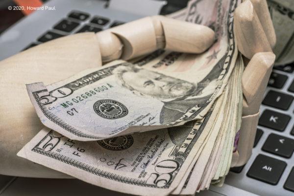 Money photo from Howard Paul