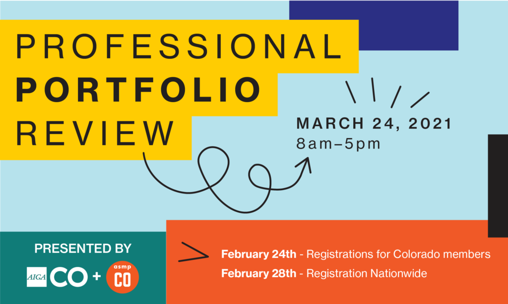 Professional Portfolio Review Graphic
