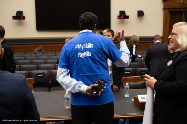 ASMP advocates appear before Congress