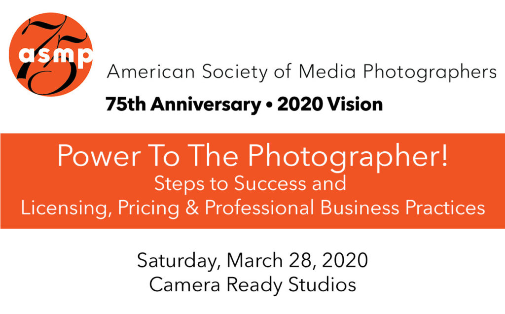 ASMP Power to the Photographer seminar