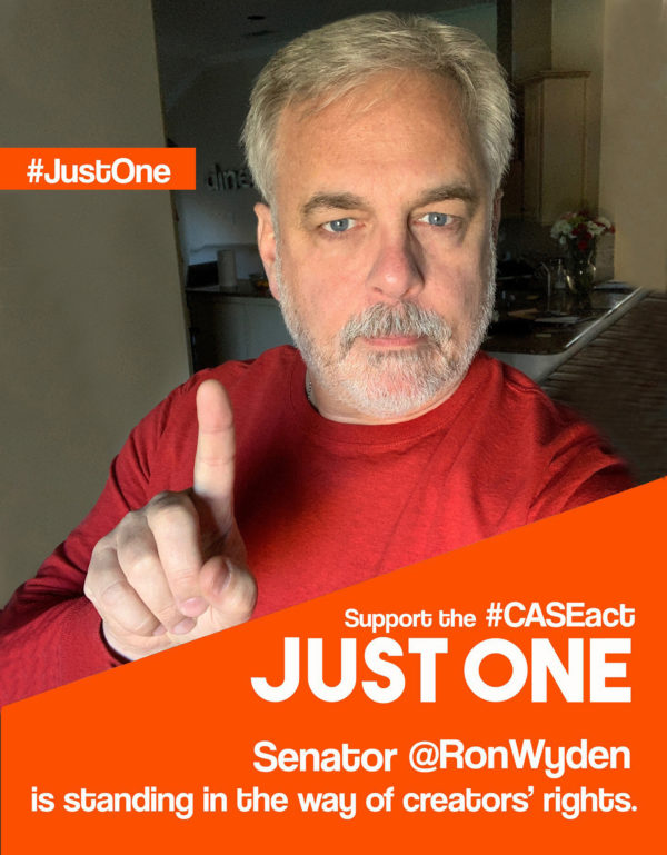 #JustOne Senator is blocking creatives from The CASE Act