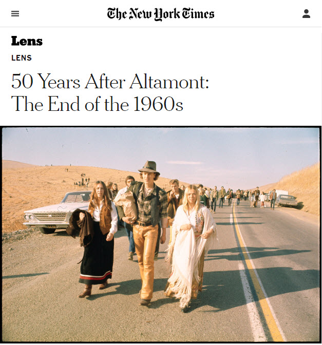 Screenshot of article posted at NYTimes