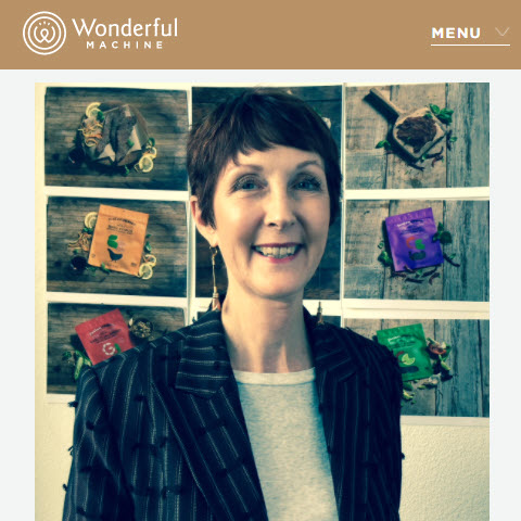 Screenshot of article posted on Wonderful Machine