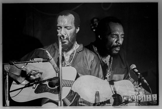 Wilbur Norman - Richie Havens at the Bijou Philadelphia, 1982