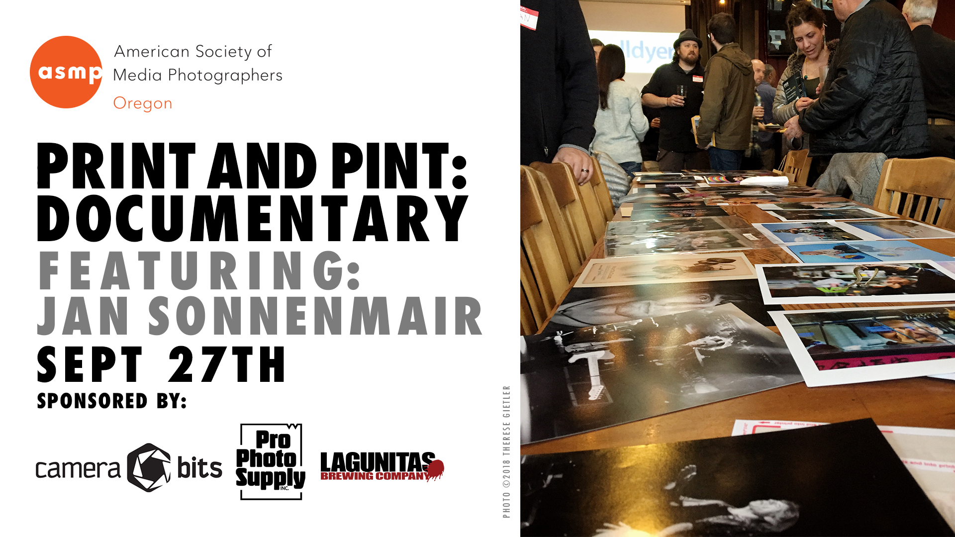 ASMP Print and Pint - September 27, 2018