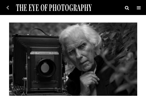 Screenshot of article posted on The Eye of Photography