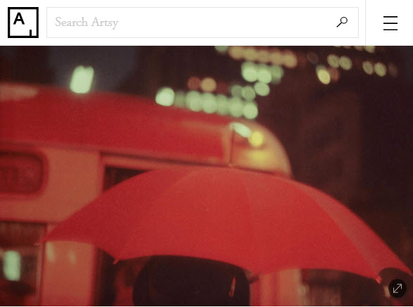 Screenshot of article posted on Artsy