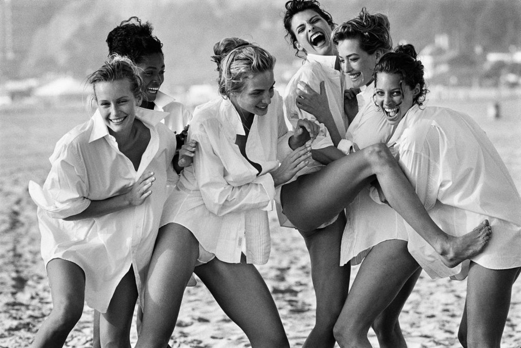 Photo of women by Peter Lindbergh