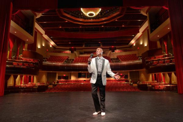 """Timothy Hayes at the Valentine Theater"" by Elliott Cramer"