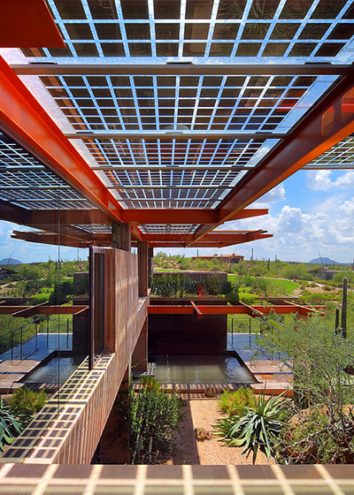 Architect/Firm: David Hovey / Optima Structure: Sterling Ridge at Desert Mountain, Scottsdale AZ (Personal residence of David Hovey)