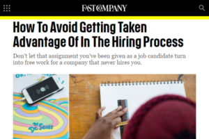 Fast Company article screenshot