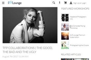 Screenshot og TFP article at SLRLounge