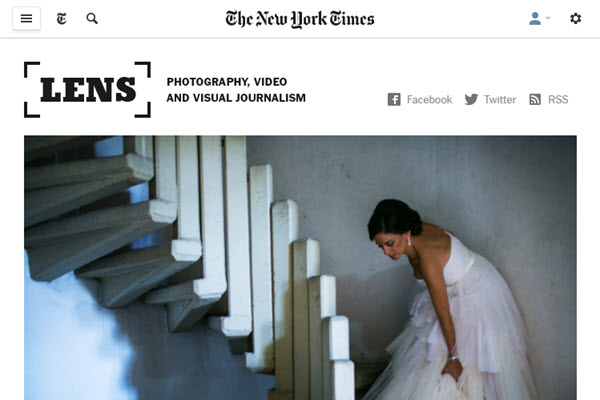 Screenshot about Reclaim survey article posted at NYTimes Lens Blog