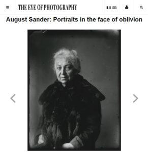 August Sander: Portraits in the Face of Oblivion - ASMP