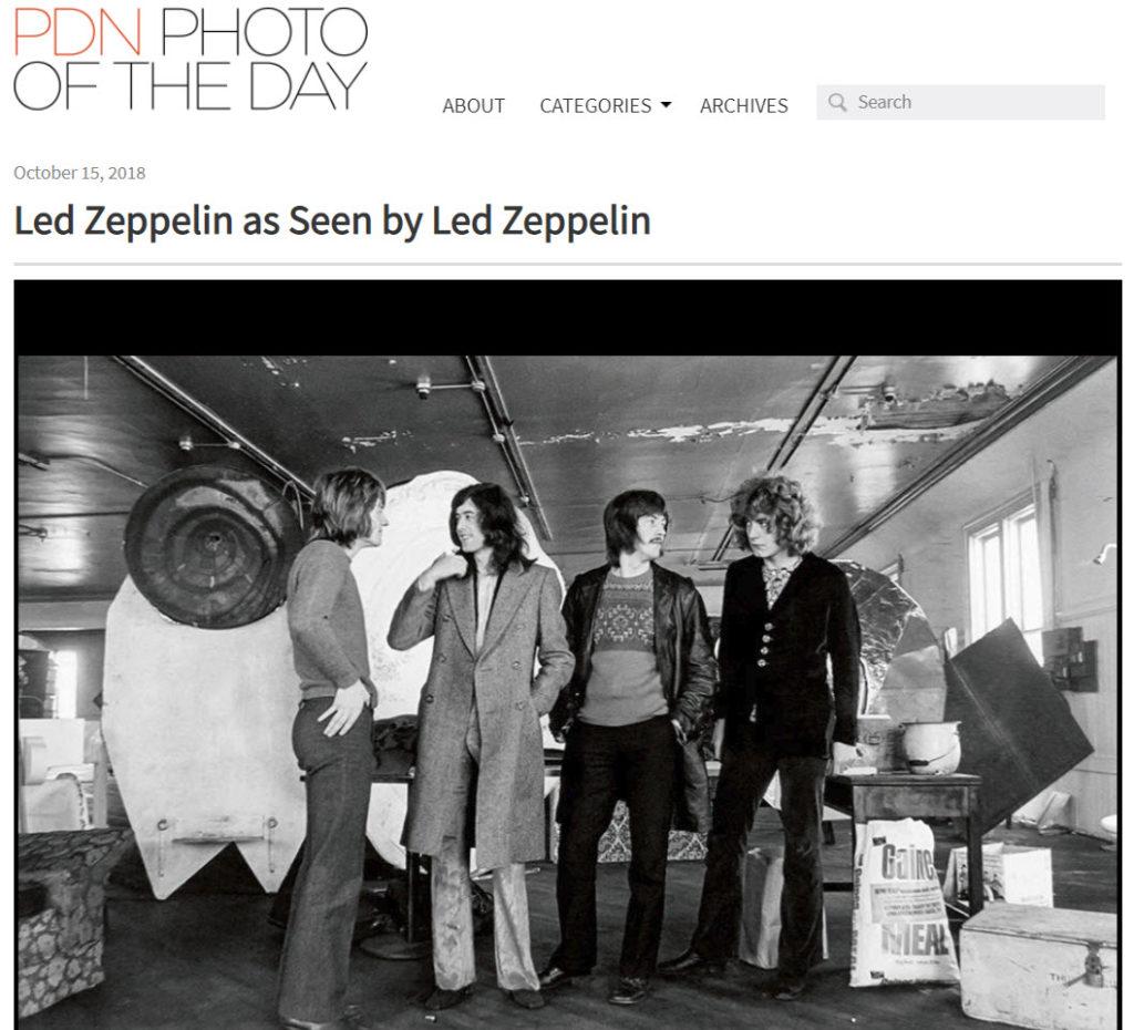 Screenshot ot article posted on PDNPhoto