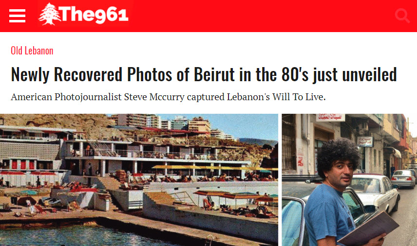 Screenshot of article posted on The961