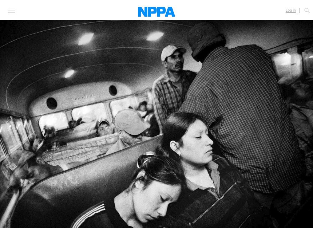 Screenshot of article posted at NPPA