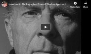Screenshot of article on Edward Weston posted on ISO 1200 Magazine