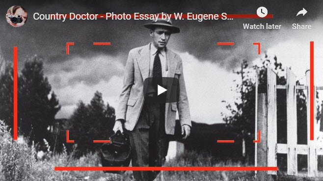 Screenshot of article on W. Eugene Smith posted at PDNPulse