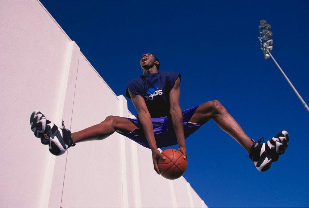 Photo of Kobe Bryant by Walter Iooss, Jr.