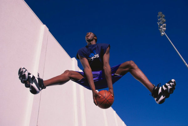Photo of Kobe Bryant by Walter Iooss, Jr.