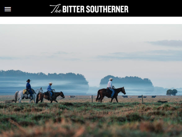 Screenshot of article posted on Bitter Southerner