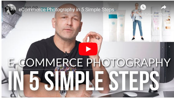 Screenshot of video posted on Fstoppers