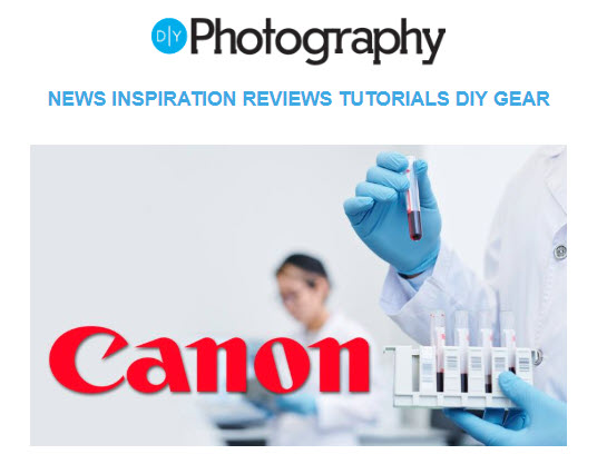 Screenshot of article posted at DIYPhotography