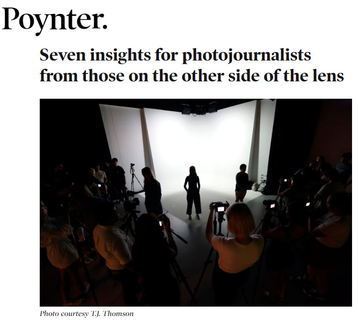 Screenshot of article posted on Poynter