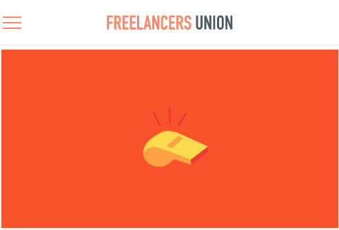 Screenshot of article posted on Freelancers Union