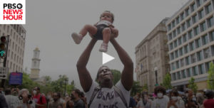 Screenshot of video posted on PBS NewsHour
