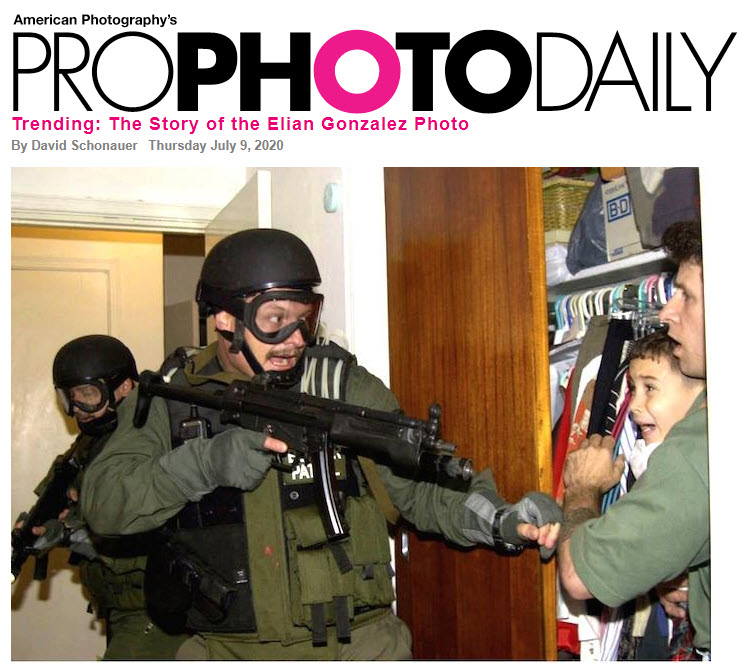 Screenshot of article posted on ProPhotoDaily
