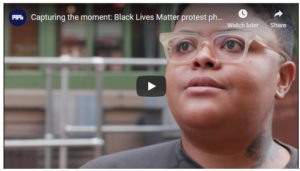 Screenshot of video on Black Lives Matter Protests posted on Fstoppers