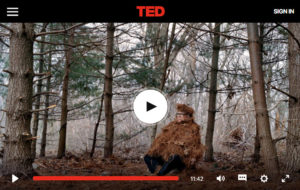 Screenshot of video posted on TED.com