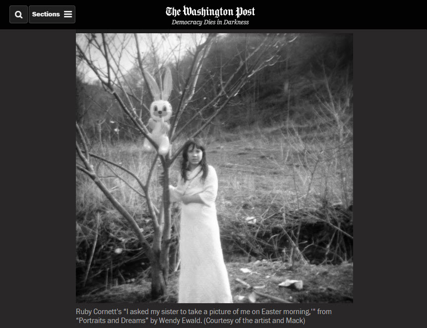 Screenshot of article posted on The Washington Post