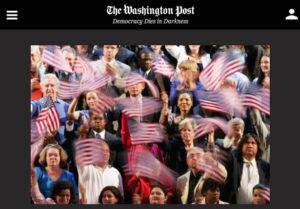 Screenshot of article posted on Washington Post