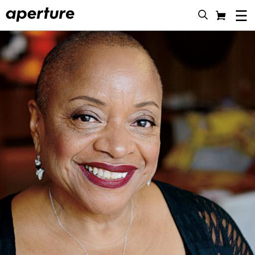 Screenshot of article on Deborah Willis posted on aperture