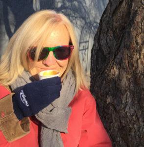 blonde, woman, portrait, sunglasses