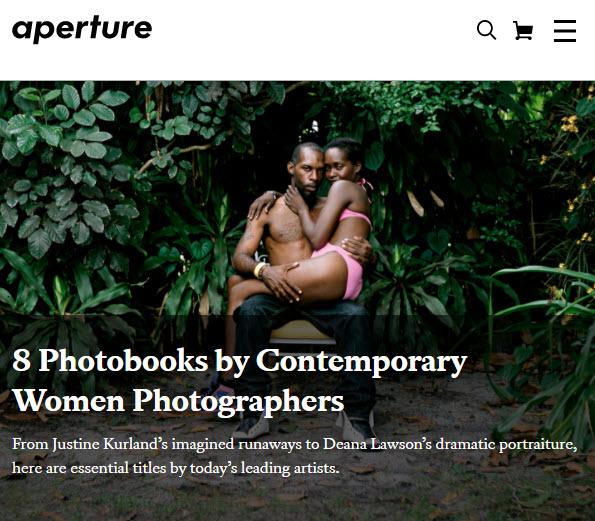 8 Photobooks by Contemporary Women Photographers