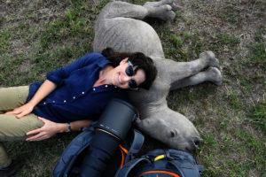 Ami Vitale baby rhino