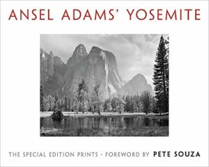 Cover of Ansel Adams'Yosemite book