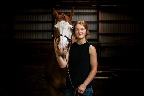 """Third Place Commercial - """"A Girl and Her Horse"""" by Kathryn Elsesser"""
