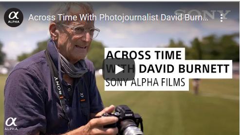 VIDEO:: Across Time With Photojournalist David Burnett