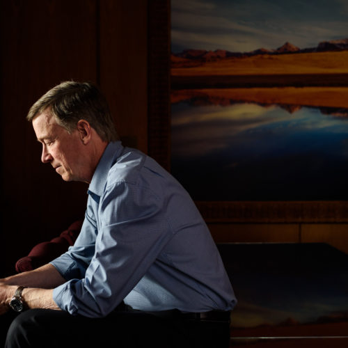 Portrait of Colorado Gov. John Hickenlooper