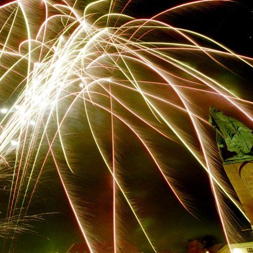 Reykjavik, Iceland, Fireworks