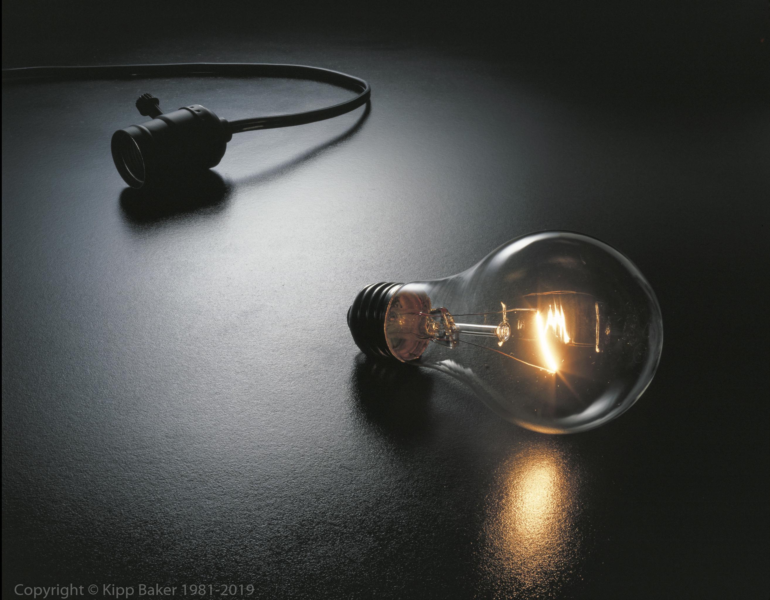 Light Bulb and socket (The Great Idea)