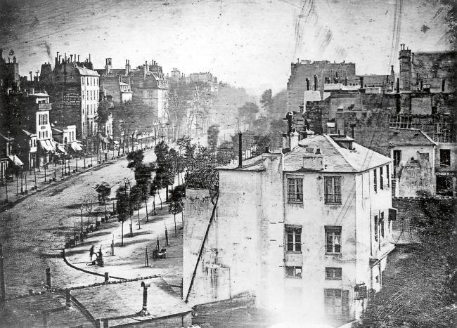 Photo by Louis Daguerre