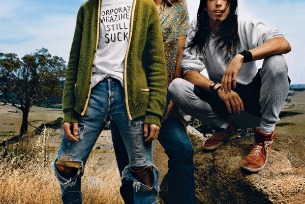 Phot of Nirvana by Mark Seliger